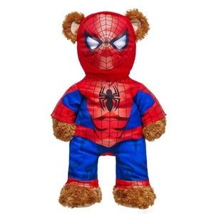 Build a Bear marvel hero Spider-Man 2pc outfit set
